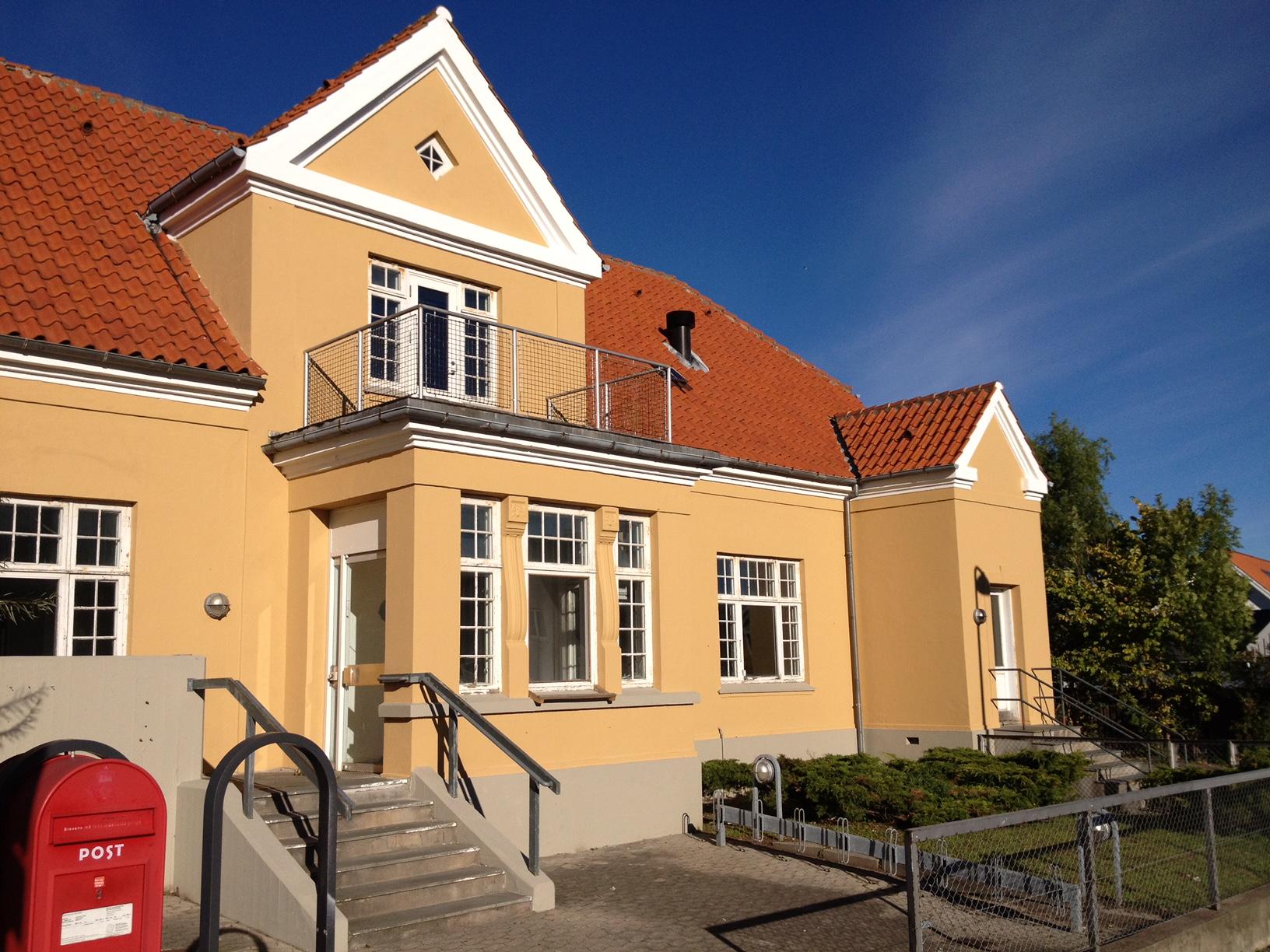 Posthuset skal være Gillelejes nye foreningshus